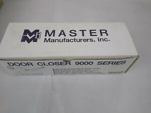 Door Closer Adjustable Power Model 9000 Master Manufacturers Gold