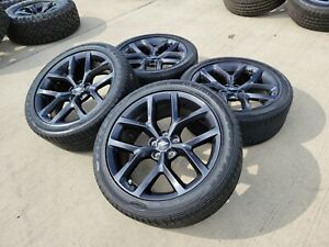 20 Dodge Charger Challenger 300 Oem Gray Wheels Rims Tires 2652 2019 2020 2021