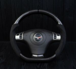 Corvette C6 Custom Steering Wheel Carbon 2006 2013 Flat Bottom D Shaped Zr1