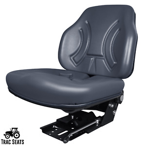 Gray Suspension Tractor Seat For Massey Ferguson 253 383 Tractors And More