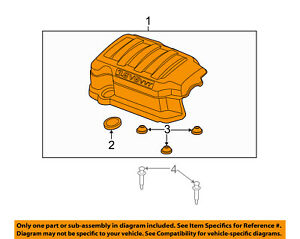 Gm Oem Engine Appearance Cover Engine Cover 12629963