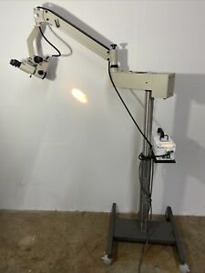 Storz Urban Model M 703f Surgical Operating Microscope Stand Dental Vet