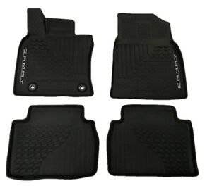 2018 2020 Toyota Camry Oem All Weather Rubber Floor Mats Pt908 03180