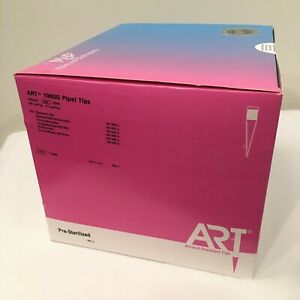 Art 1000g Barrier Pipet Tips 1 Ml 8 Racks box 800 Ct Sterile P n 2079g