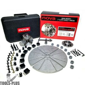 Nova Lathes 48266 G3 Bowl Turning Bundle includes 48232 Jscole 6030 case New