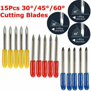 New 15pcs Cutter Computer Lettering Tool For Mimaki Cutting Plotter Vinyl Blade
