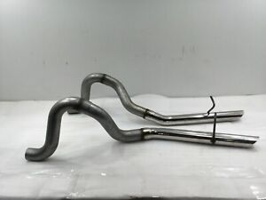 1987 93 Mustang Flowmaster 2 5 Exhaust Tailpipes W Stainless Tips Aluminized L