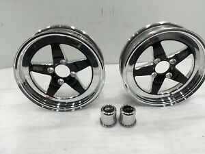 1979 93 Mustang Weld Rt S S71 Wheel 15x4 Black X 2