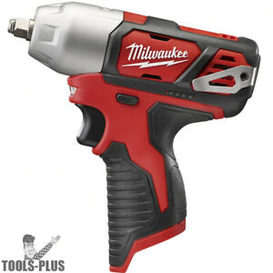 Milwaukee 2463 80 M12 3 8 Impact Wrench With Hog Ring tool Only
