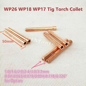 Argon Welding Tig Torch Consumable Tig Tungsten Electrode Collet High Quality