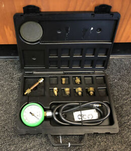 Nice Snap On Tools Mt37a Pb133 Oil Pressure Gauge Set Free Shipping