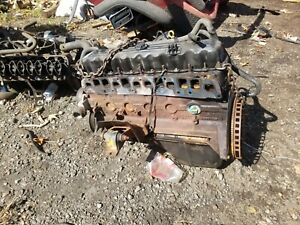 05 06 Jeep Wrangler Tj 4 0 6 Cylinder Long Block Engine 139k Miles