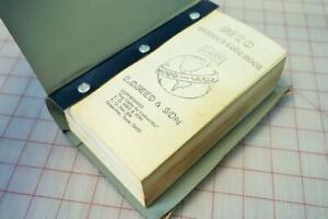 Reed Padlock Code Book By E d Reed Son Key Codes For Locksmiths