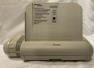 Swingline Model 525 Commercial Electric 3 Hole Punch 8 5 Inch 20 Sheet Capacity