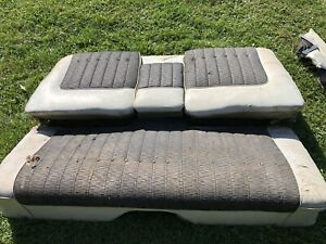 1959 Cadillac Coupe Deville Back Seat