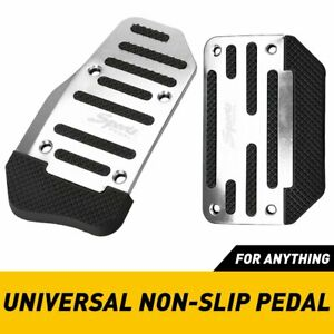 High Toughness Non Slip Car Foot Pedals Pad Cover For Brake Clutch Accelerator