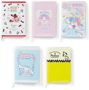 2021 Sanrio Pocket Date Book Schedule Planner Notebook 5 Types Japan