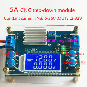 5a Dc dc Buck Step down Constant Voltage Current Lcd Power Supply Module New
