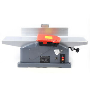 6 inch 10 amp Benchtop Jointer Woodworking Wood Cutting With 2x Handle