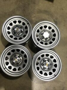 1 2019 Oem Chevy Silverado 17 Steel Wheel Rim 030618 Set 10 16