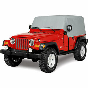 Superior 4 Layer Waterproof Cab Cover For 1976 2006 Jeep Wrangler All Weather