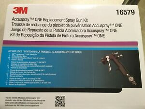 3m Accuspray One Replacement Spray Gun Kit 16579 New In Box