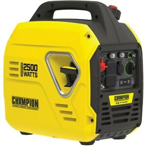 Champion 100889 1850 Watt Inverter Generator W Parallel Capability carb