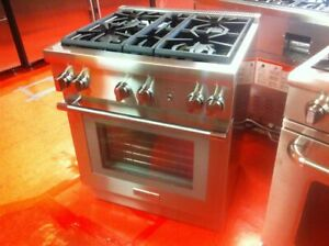 30 Thermador Gas Range Prg304wh used 2019 Model