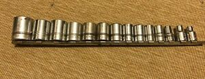 Williams 14 Pc 1 2 Dr 12 Pt Socket Set 3 8 To 1 1 4 Free Shipping Usa