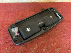 Bmw 2004 2010 E60 Rear In Trunk Tool First Aid Kit Box Panel Cover Oem 99k