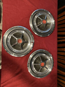Ford Automotive 1966 Thunderbird 3 Hub Caps Selling Together