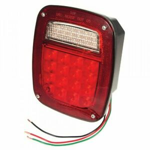 Grote G5082 3 Tail Light Stop Turn Hi Count Led W O Side Marker