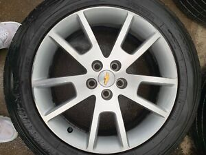 2014 Chevy Malibu 18 Inch 5 Lug Rims And Wheels Perfect Condition Whole Set