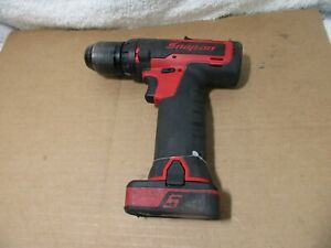 Snap On 14 4 V Microlithium Cordless Drill Body 2 0 Battery Cdr761a Works Great