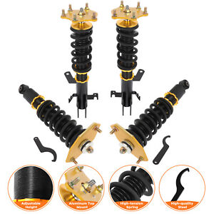 Coilovers Struts For Honda Crv Cr V 2007 2011 Adj Height Suspension Springs Kits