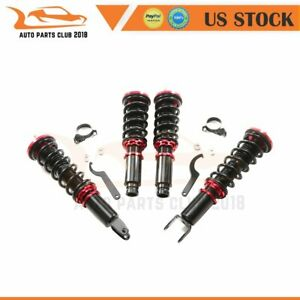 Coilovers Shock Absorber Suspension Kits For 96 00 Honda Civic Adjustable Height