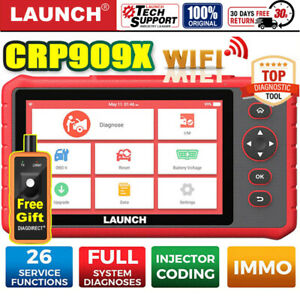 Launch X431 Crp909x Pro Obd2 Scanner Full System Ecu Dpf Tpms Diagnostic Tool