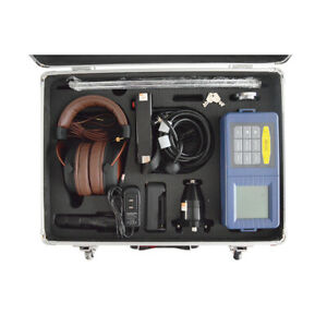 Four Meter High Precision Underground Water Pipe Leak Detector Lcd Display