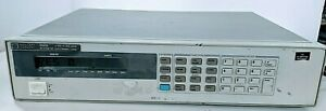 Hp Agilent Keysight 6060b System Dc Electronic Load 3 60v 300w With Power Cord