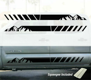 Tacoma Mountain Sides Door Trd Toyota Truck Decals Sticker Graphics Stripes Sr5