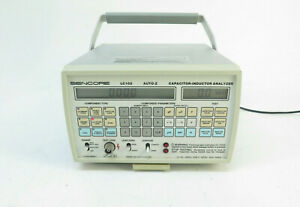 Sencore Lc 102 Auto z Capacitor Inductor Analyzer W Power Adapter