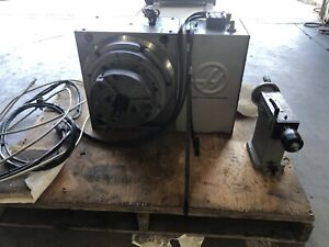Haas Hrt310 4th Axis Rotary Table With Tail Stock And 12inches Chuck Mfg 2008 V