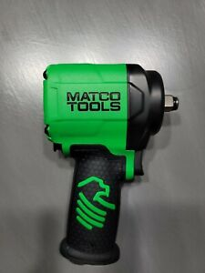 Matco 1 2 Drive Stubby Air Impact Wrench Green No Box
