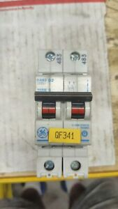 Ge D2 Circuit Breaker 2 pole W Free Shipping