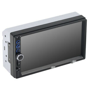 7in Double 2din Car Fm Stereo Radio Mp5 Player Touch Screen Bt Audio Usb tf aux