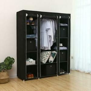 Multi type Portable Clothes Rack Closet Organizers Home Wardrobe Storage Holder