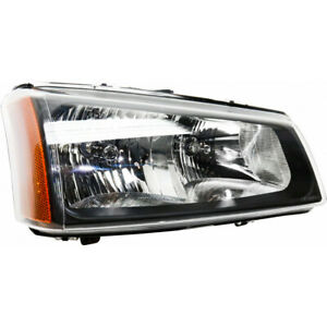For Chevy Silverado 1500 2500 Hd Headlight 2003 2006 Passenger Side Gm2503257