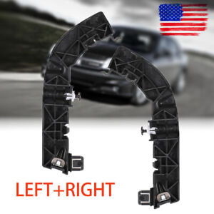 Pair Front Left Right Bumper Support Brackets For Dodge Challenger 2008 2020