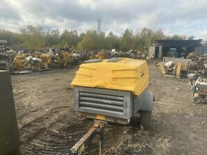 2014 Atlas Copco Xas185 Air Compressor Low Hours