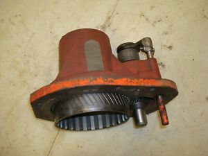 1959 Case 611b Tractor Pto Clutch Basket Housing Assembly